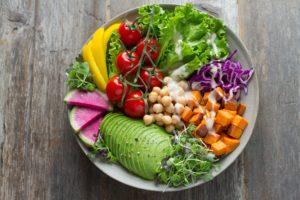Healthy snacks for social picnic
